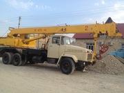 атокран 25 тонник и жип ландровер и JCB 2012 года